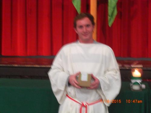 Kevin at 18