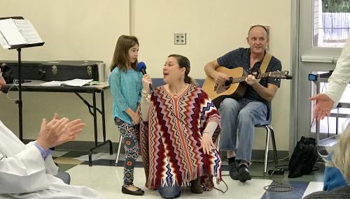 Emma sings 1